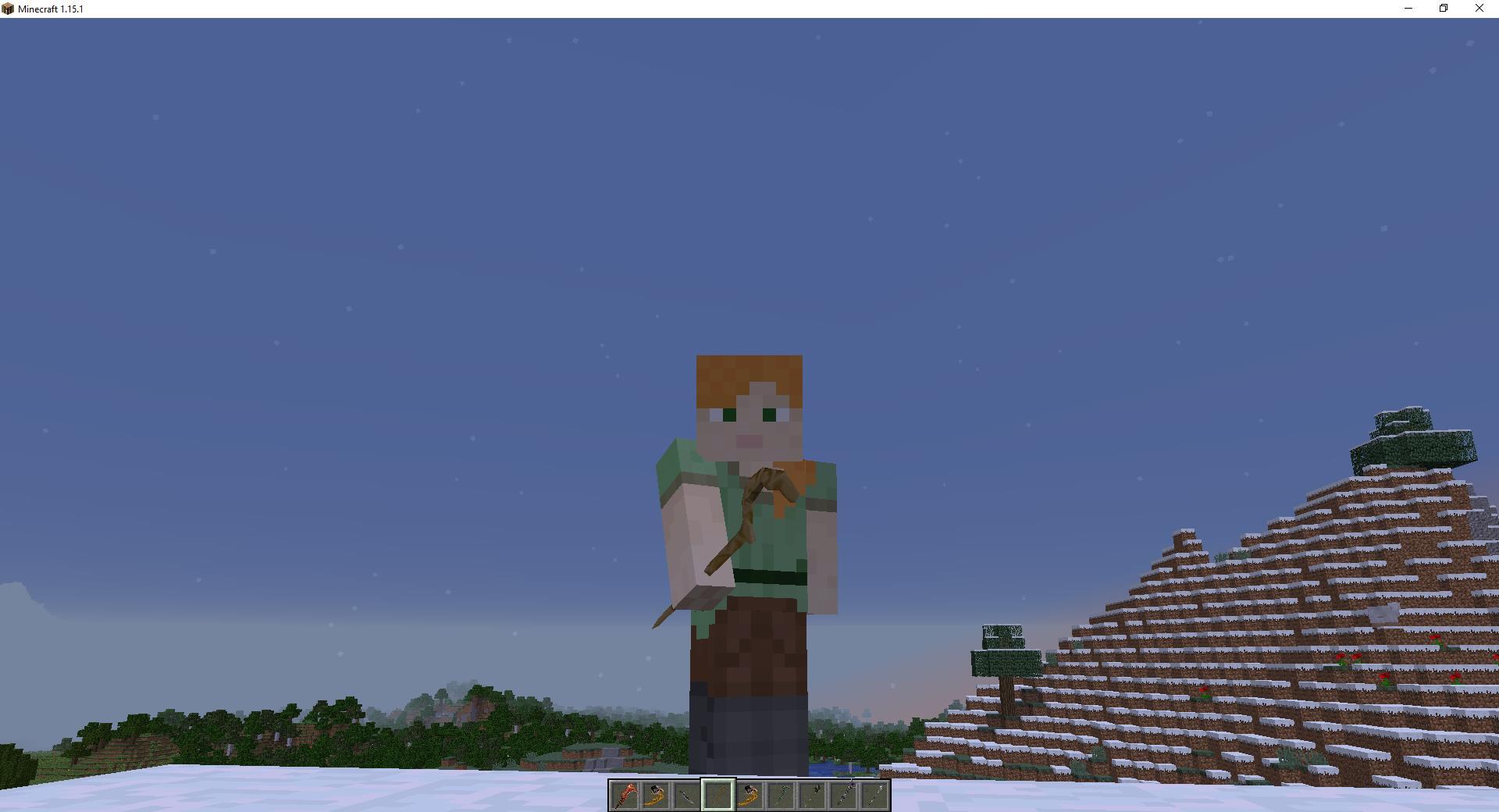 Мод «Магическое оружие имечи» - скриншот 4