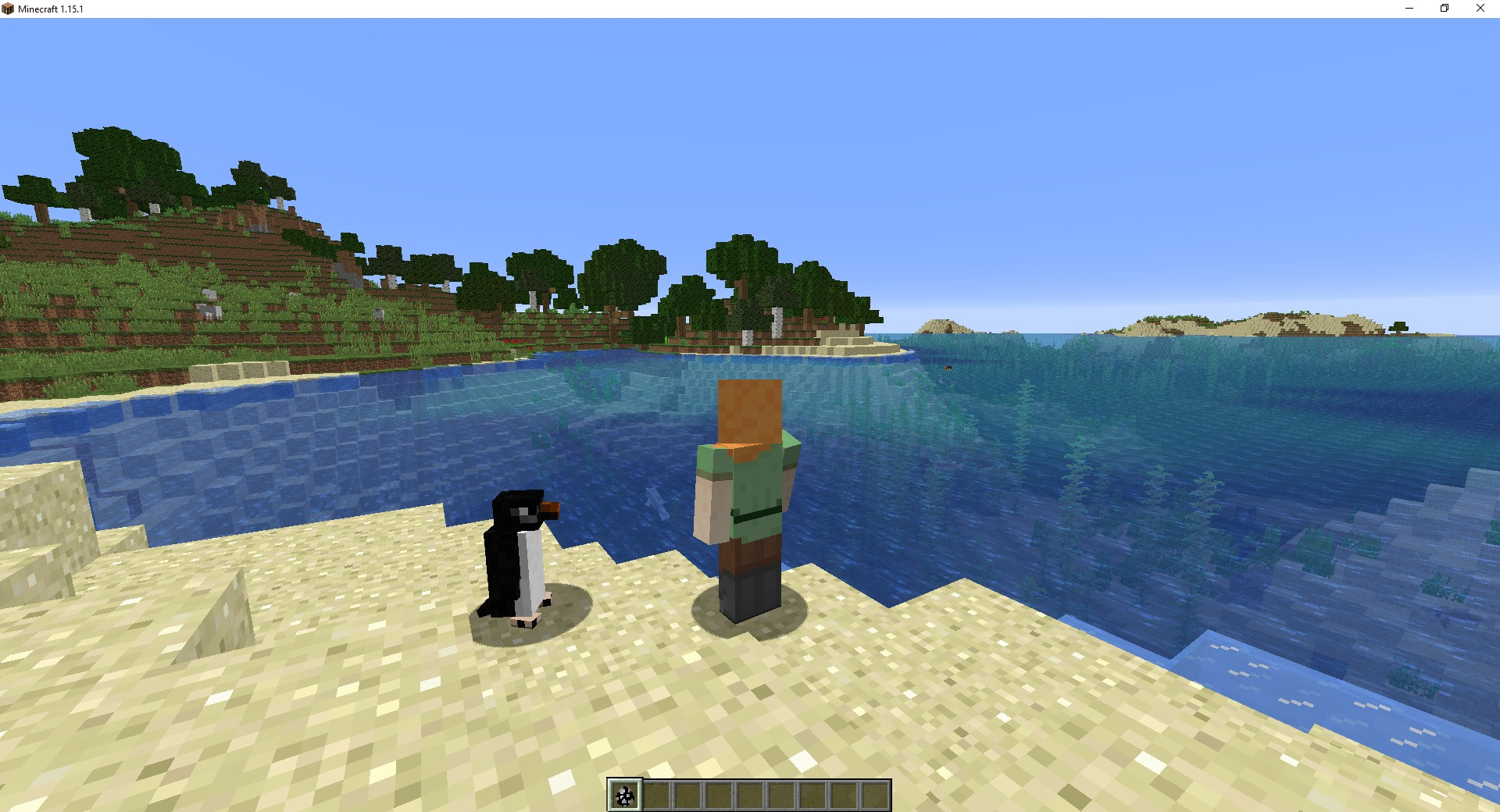 Мод «Waddles» (Пингвины) - скриншот 2