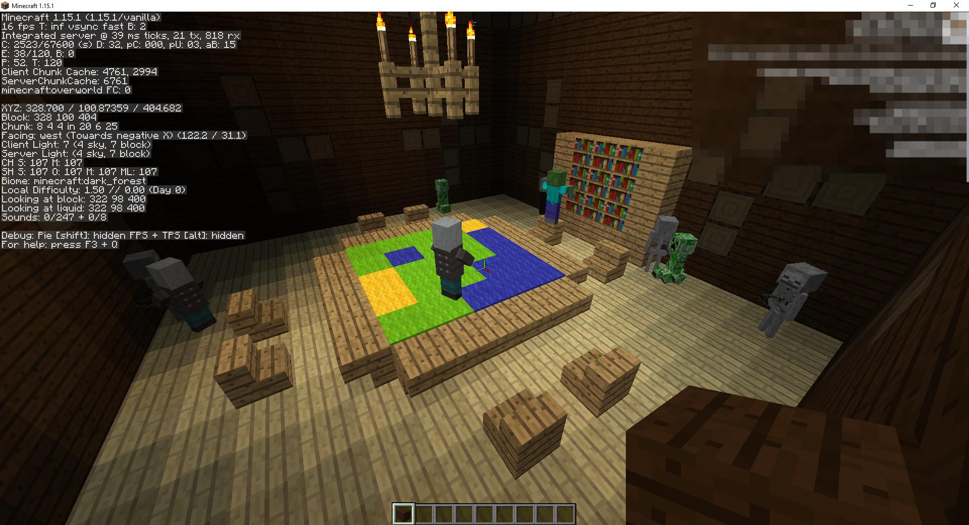 Сид «Лесной особняк разбойников и деревня» - скриншот 3