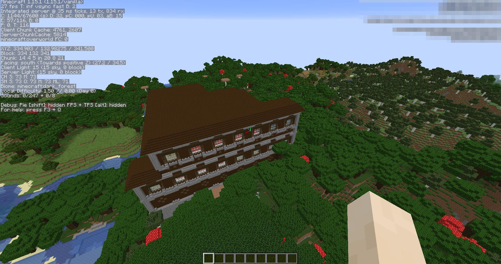 Сид «Лесной особняк разбойников и деревня» - скриншот 2