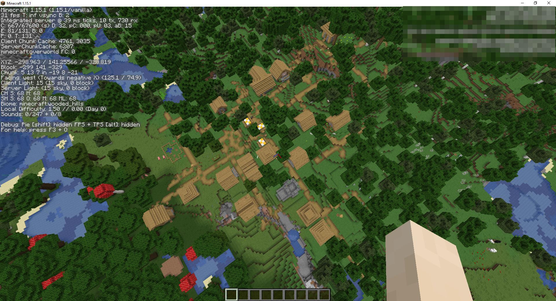 Сид «Лесной особняк разбойников и деревня» - скриншот 4