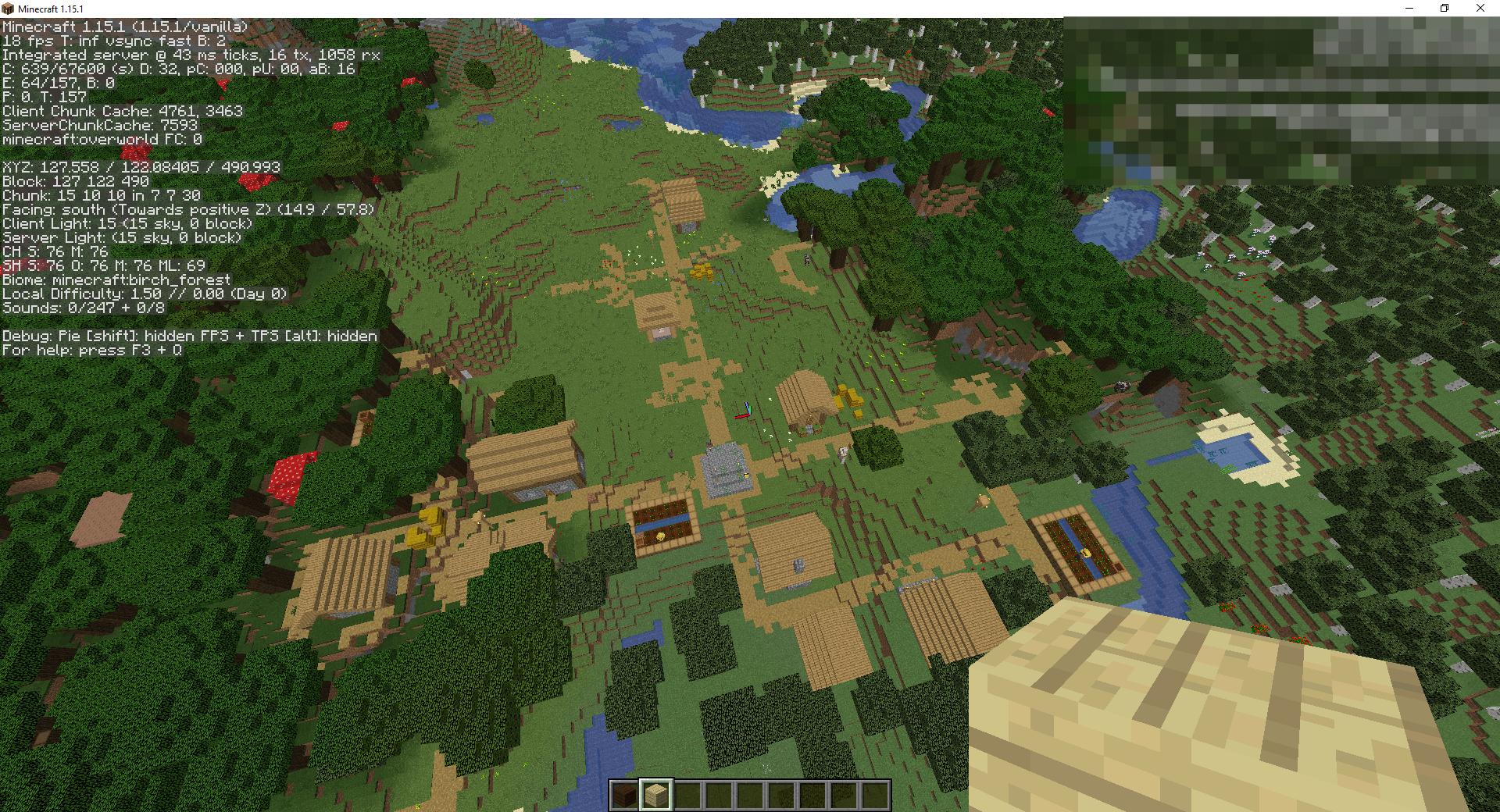 Сид «Лесной особняк разбойников и деревня» - скриншот 5