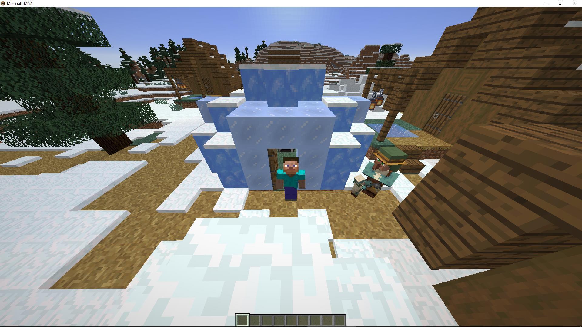 Сид «Появление в иглу» (Зимняя деревня) - скриншот 2