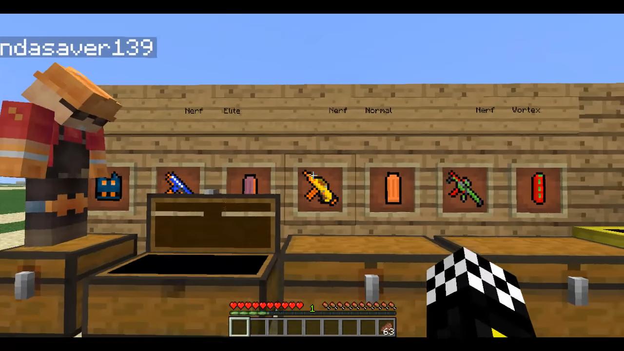 Flan's Nerf (Пак на оружие) - скриншот 14