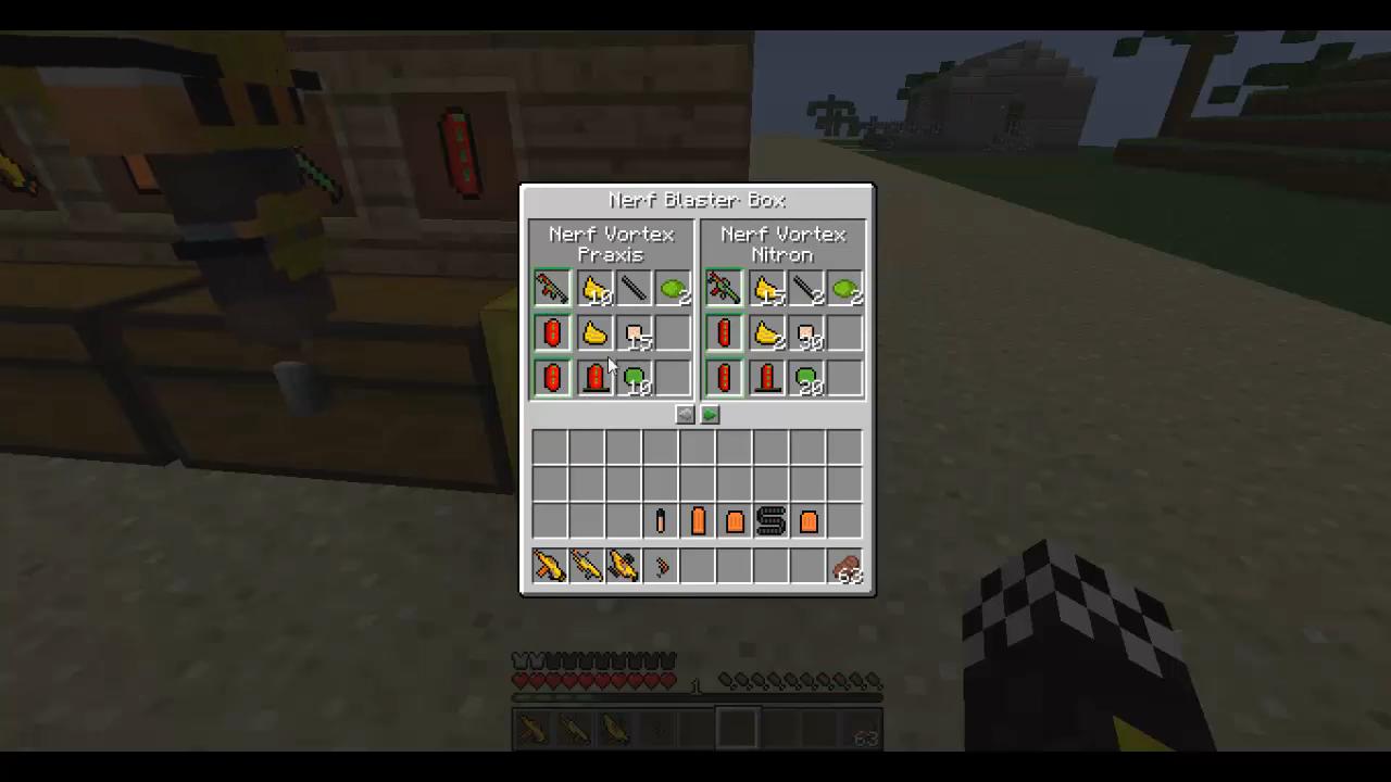 Flan's Nerf (Пак на оружие) - скриншот 10
