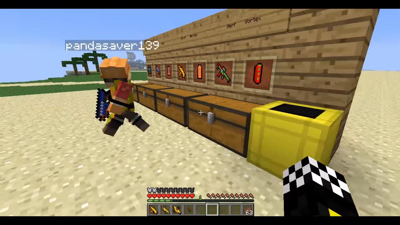 Flan's Nerf (Пак на оружие) - скриншот 9