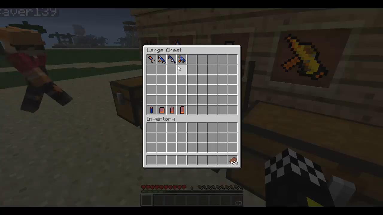 Flan's Nerf (Пак на оружие) - скриншот 15