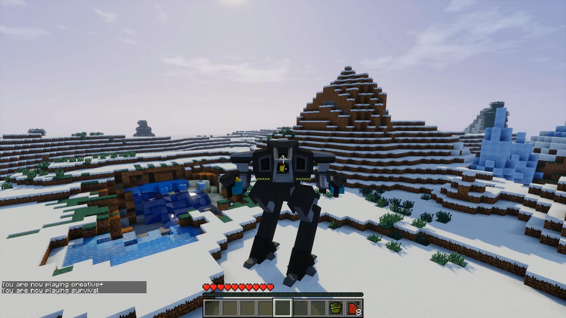 Flan's Titan (Пак на титанов) - скриншот 1