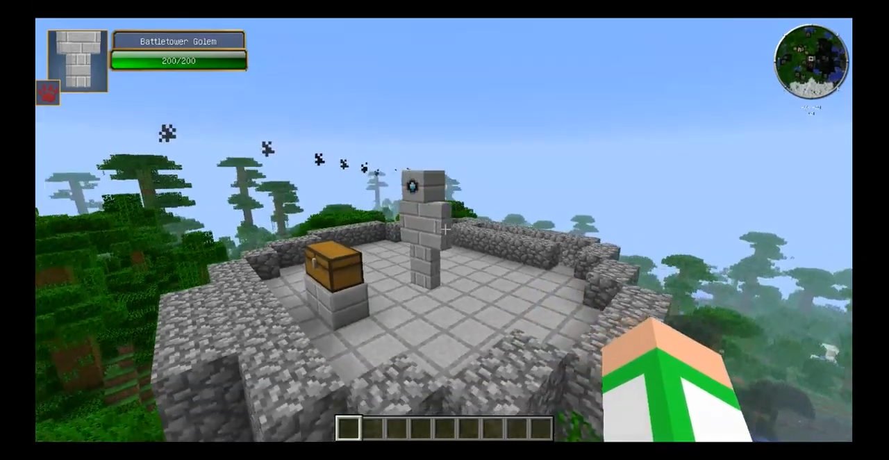 Мод Battle Towers (Башни ссокровищами) - скриншот 7