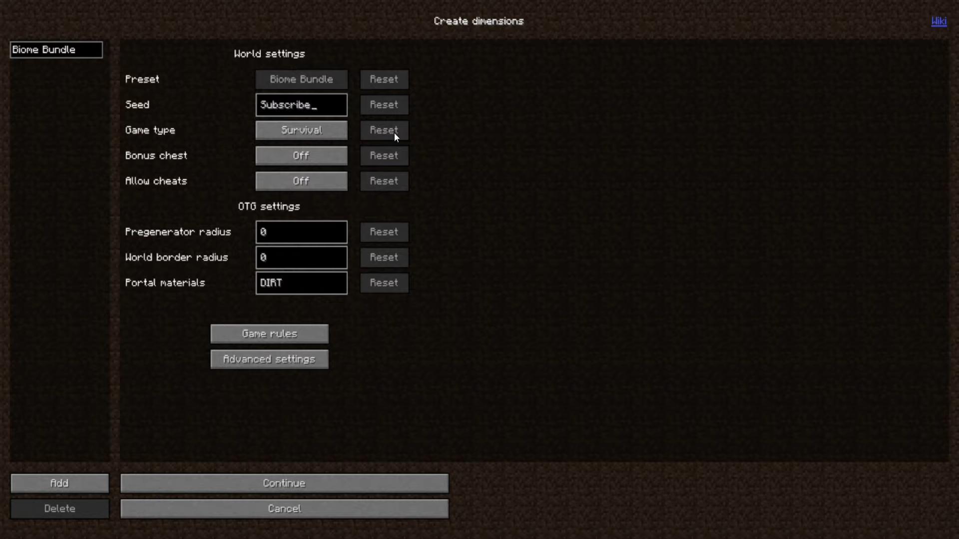 Мод Biome Bundle (Куча новых биомов) - скриншот 8