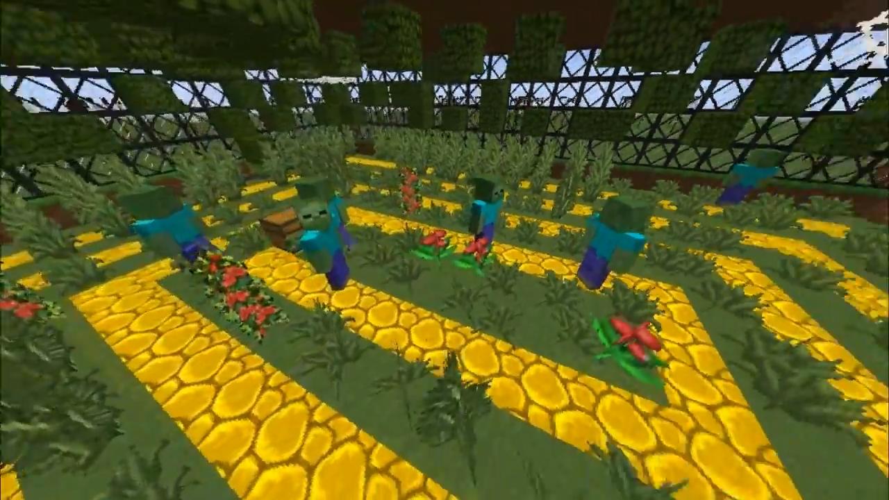 Мод CrackedZombie (Сильные зомби) - скриншот 1