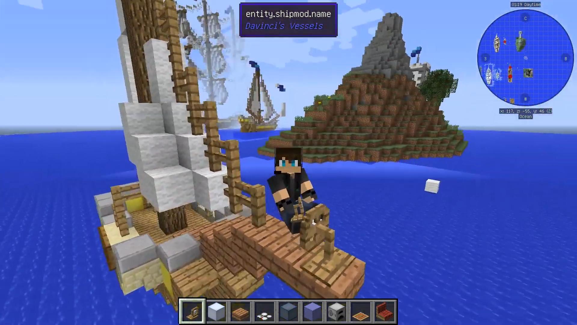 Мод Davincis Vessels (Корабли) - скриншот 4