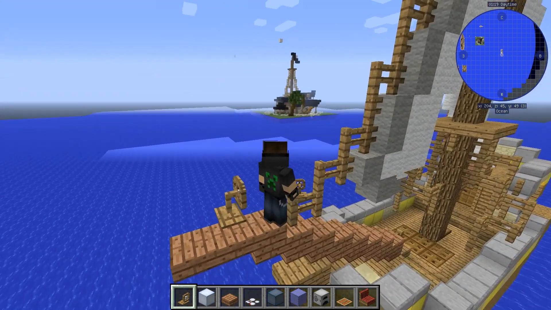 Мод Davincis Vessels (Корабли) - скриншот 2