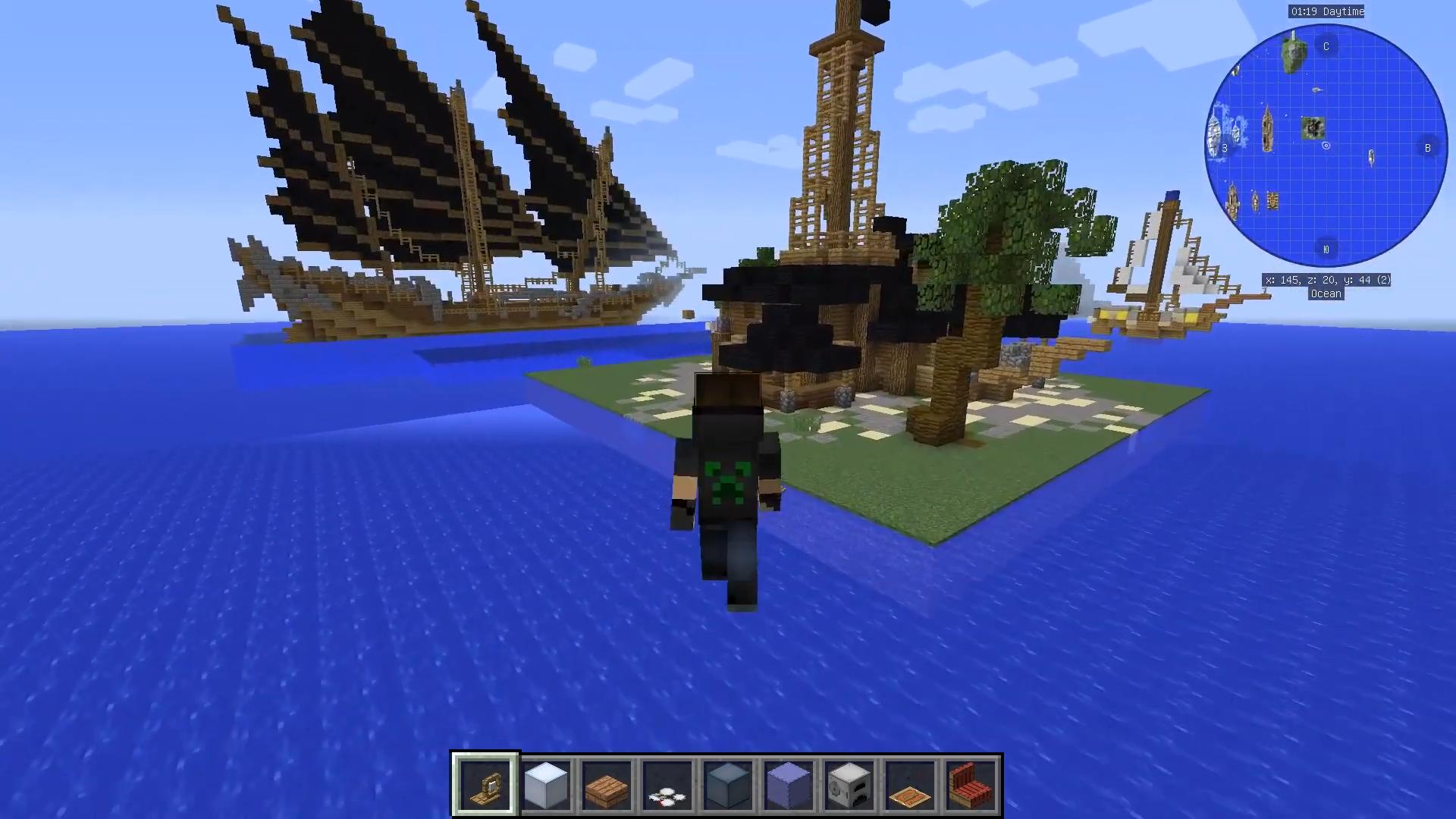 Мод Davincis Vessels (Корабли) - скриншот 1