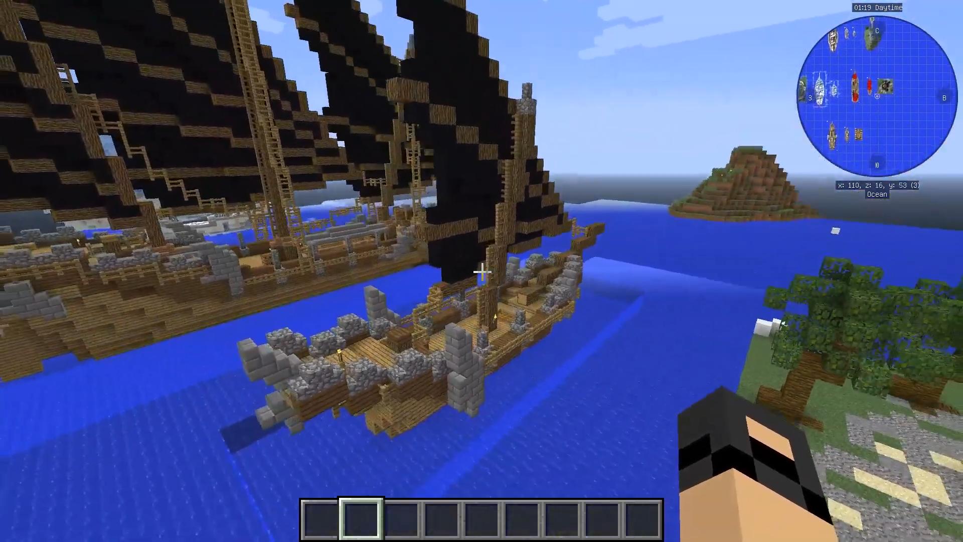 Мод Davincis Vessels (Корабли) - скриншот 6