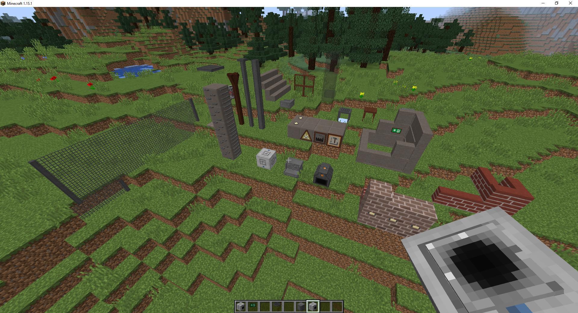 Мод «Инженерный декор» - скриншот 4