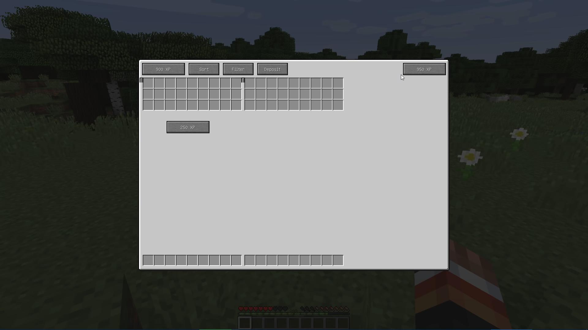 Мод Overpowered Inventory (огромный инвентарь) - скриншот 3