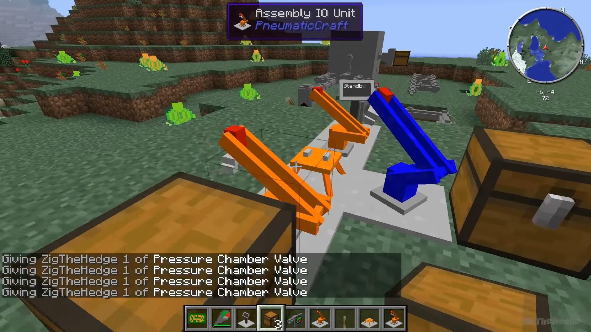 Мод «PneumaticCraft» - скриншот 5