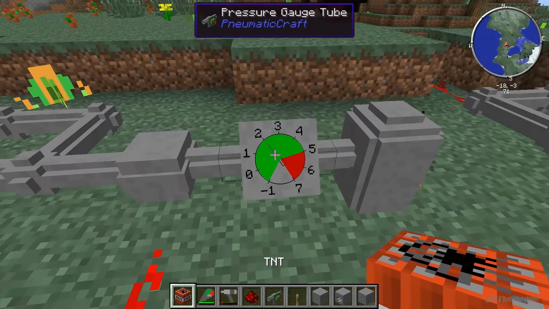 Мод «PneumaticCraft» - скриншот 2