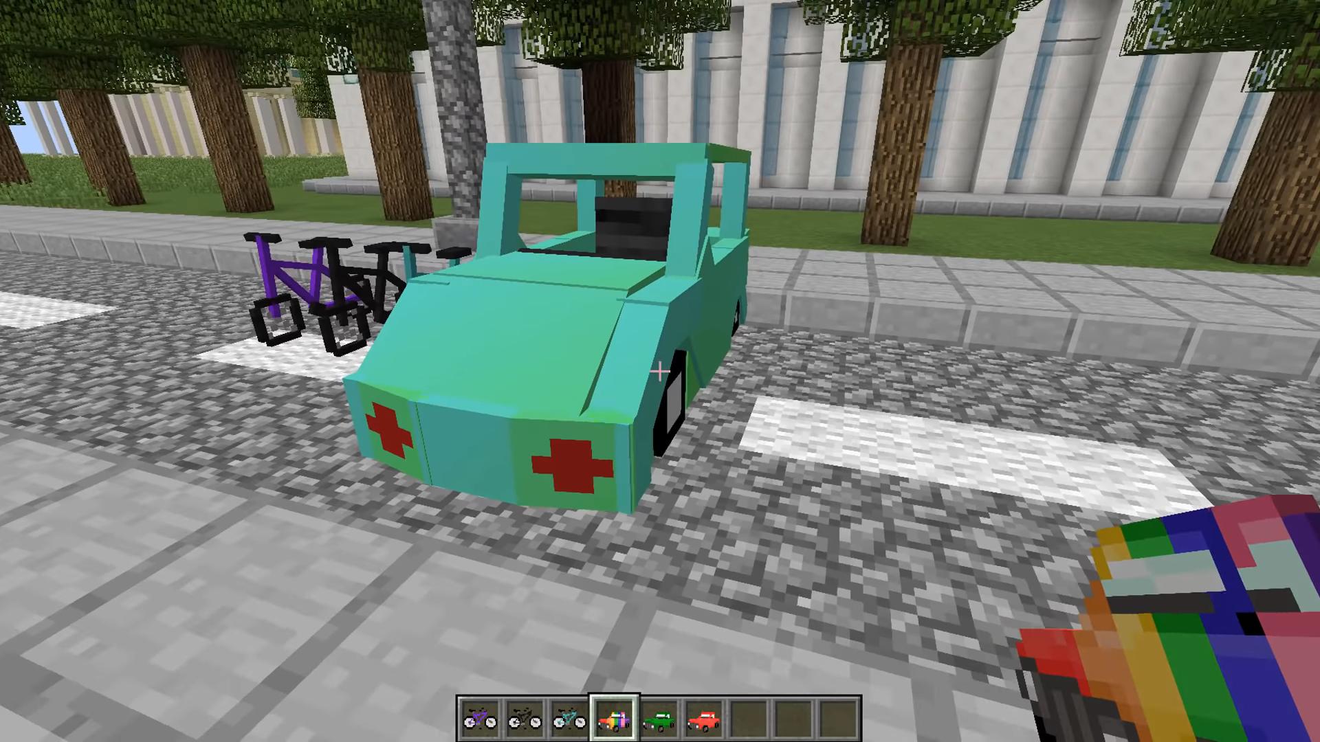 Мод Transportation (Транспорт и машины) - скриншот 10