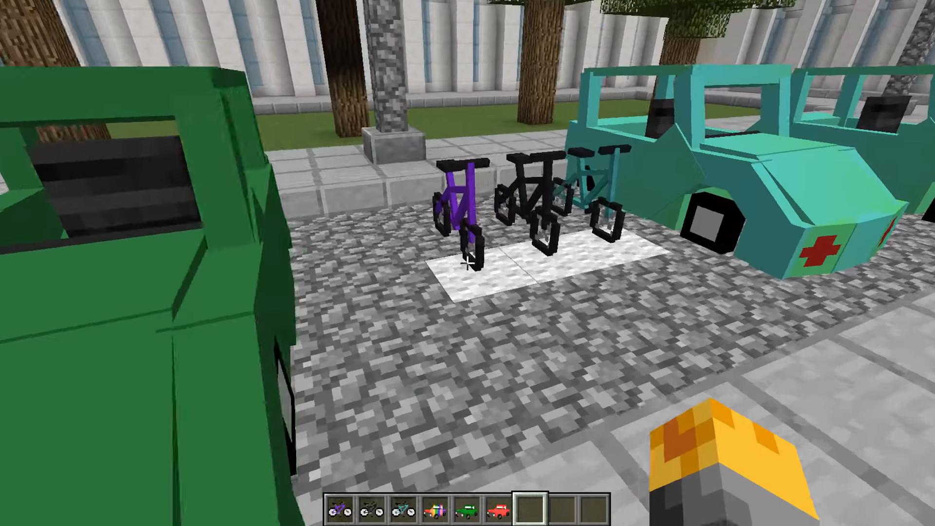 Мод Transportation (Транспорт и машины) - скриншот 1