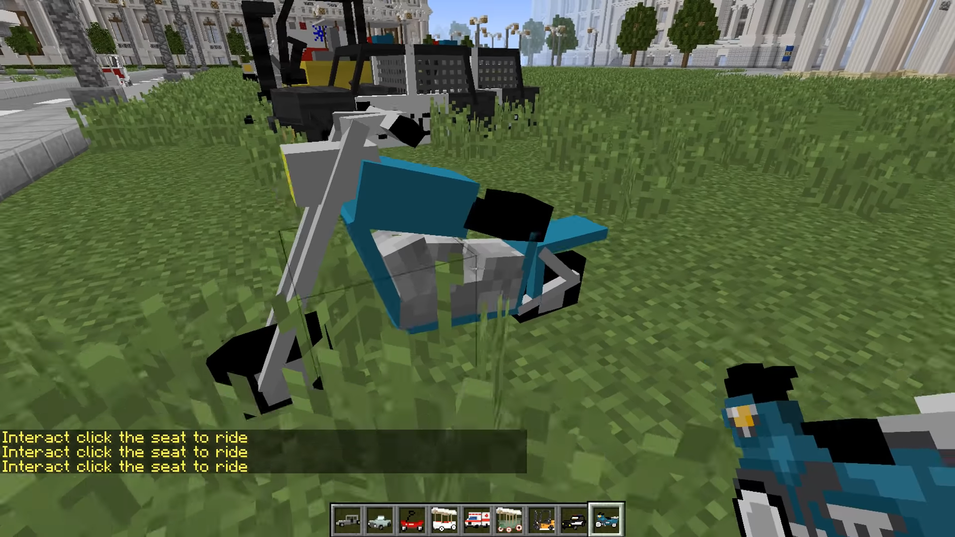 Мод Transportation (Транспорт имашины) - скриншот 7