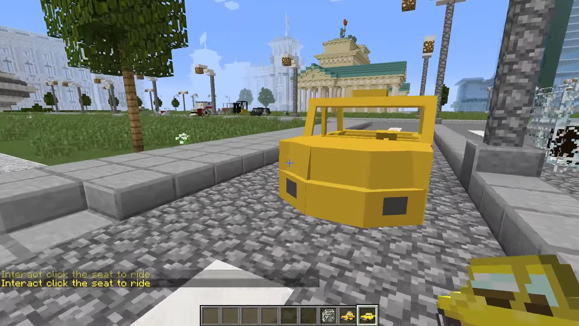 Мод Transportation (Транспорт имашины) - скриншот 8