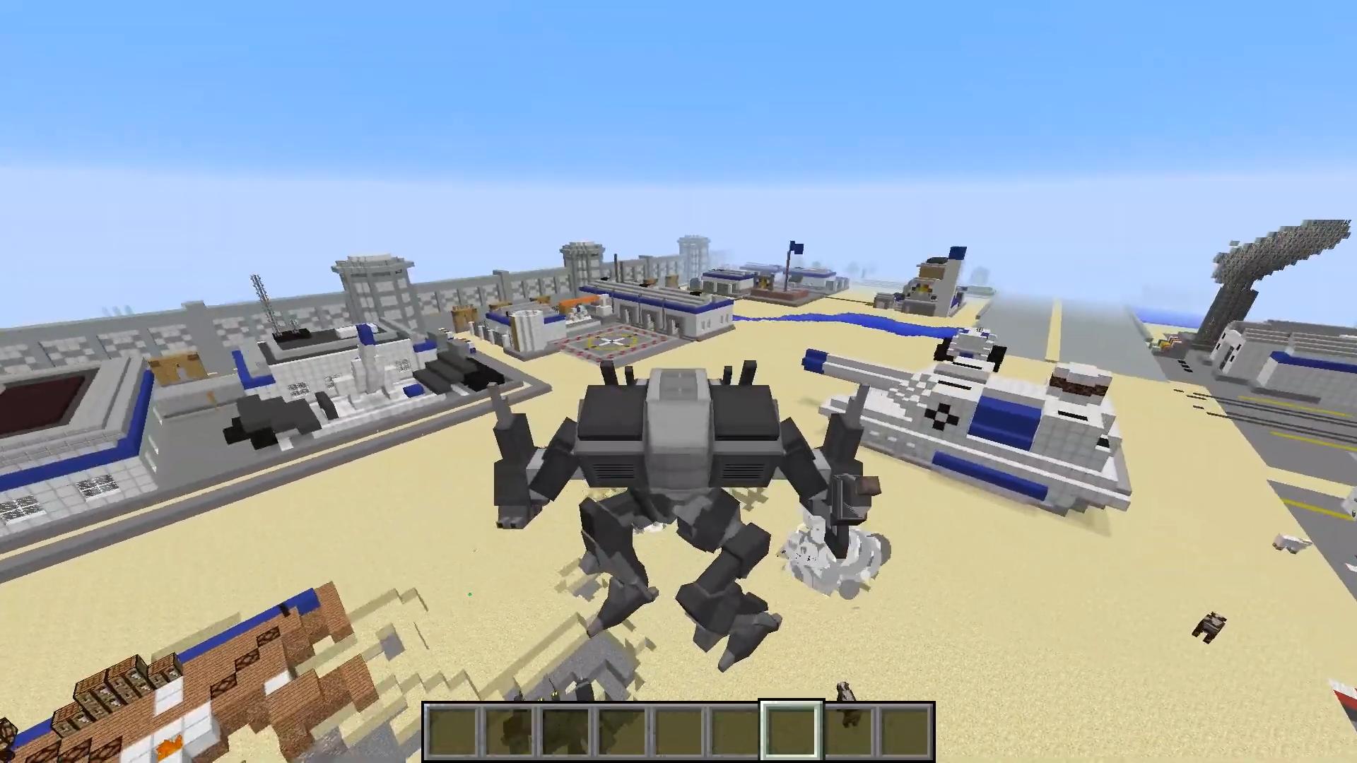 Пак для Flan's «Mecha Parts» (Альфа-титаны) - скриншот 3