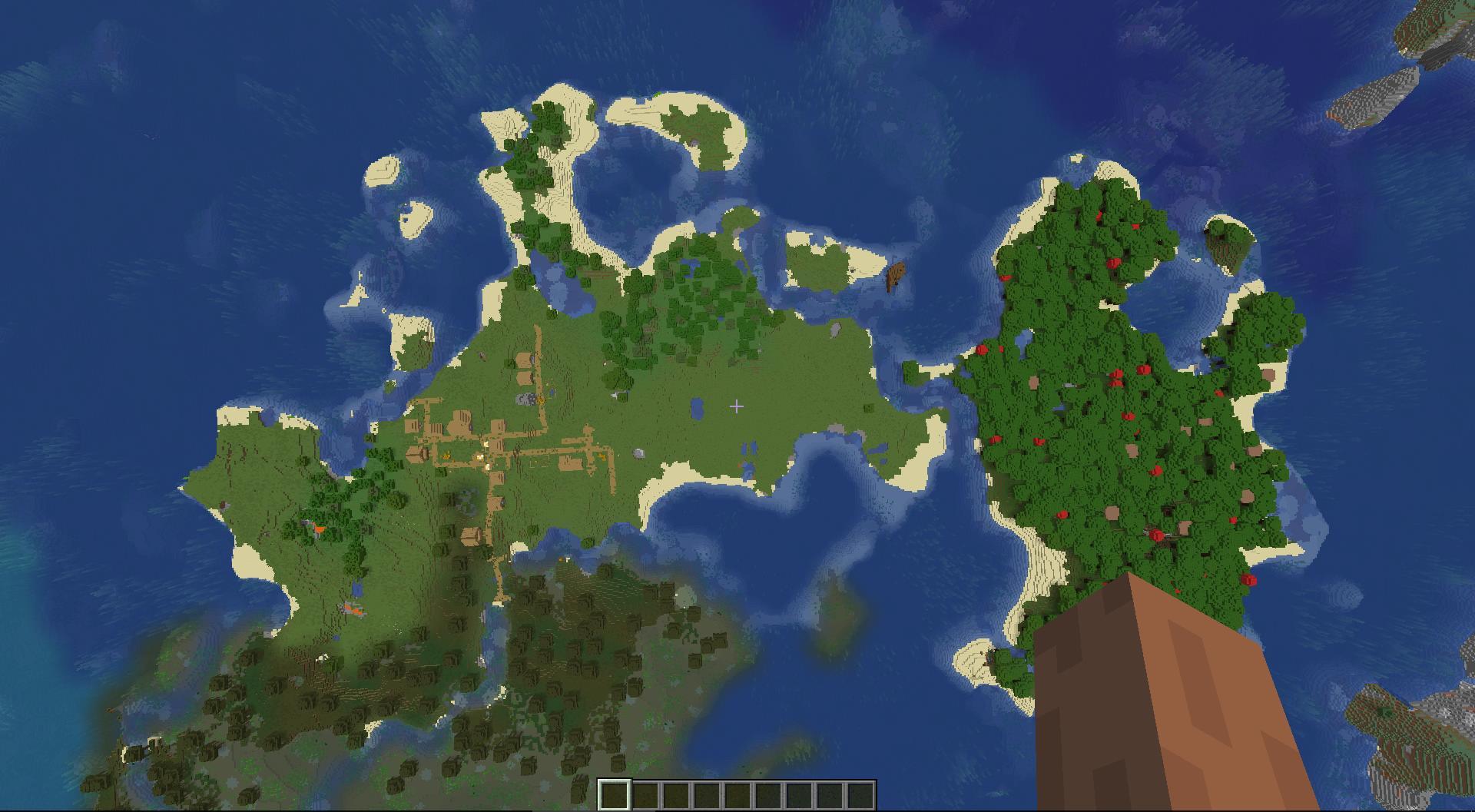 Сид «Два кораблекрушения, деревня и лесной остров» - скриншот 1
