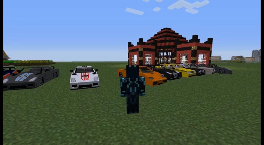 Spino's Vehicles (Ламбаргини, Форд Мустанг и другие машины) - скриншот 7