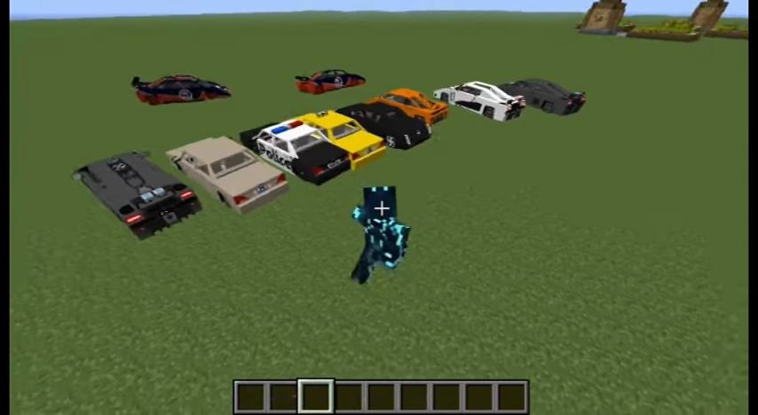 Spino's Vehicles (Ламбаргини, Форд Мустанг и другие машины) - скриншот 4