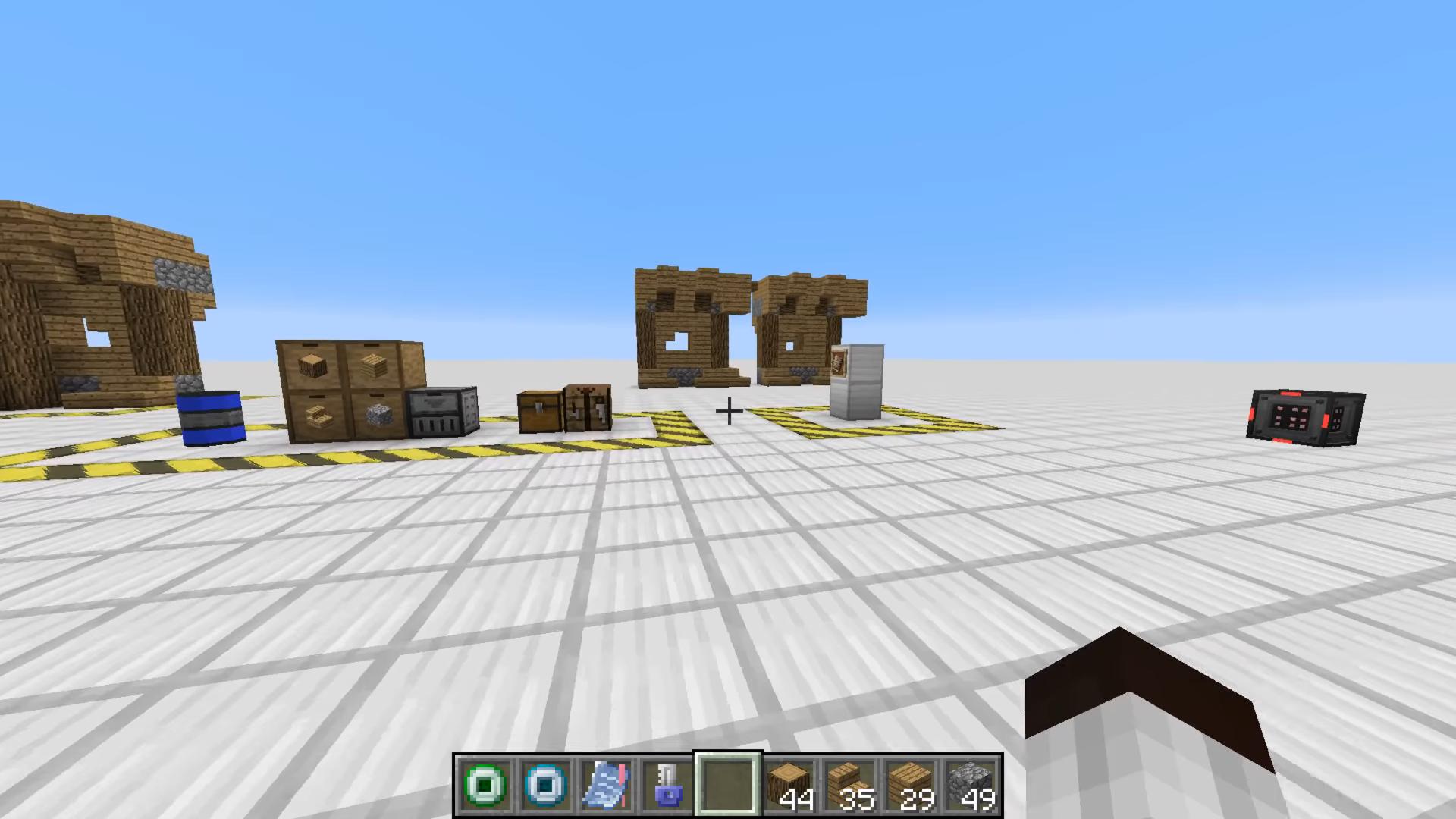 Мод «Architect» (Помощник для строителя) - скриншот 7