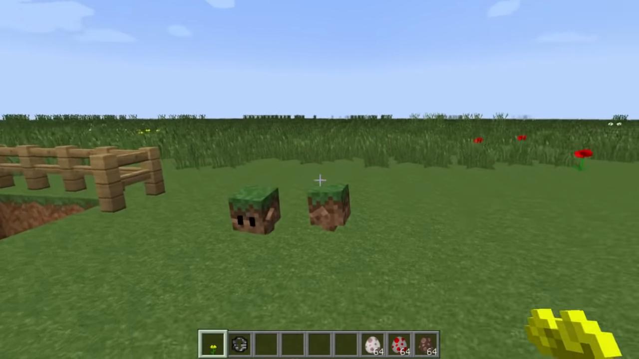 Мод Blocklings (Живые блоки!) - скриншот 5