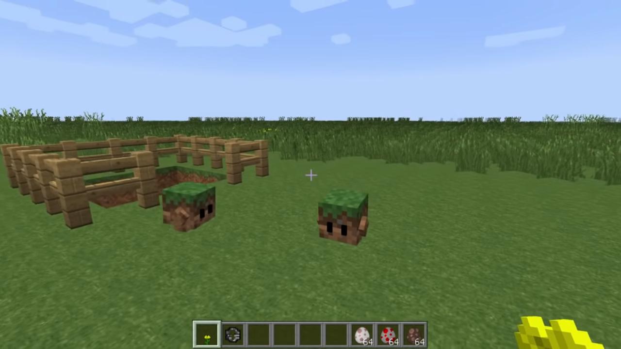 Мод Blocklings (Живые блоки!) - скриншот 4