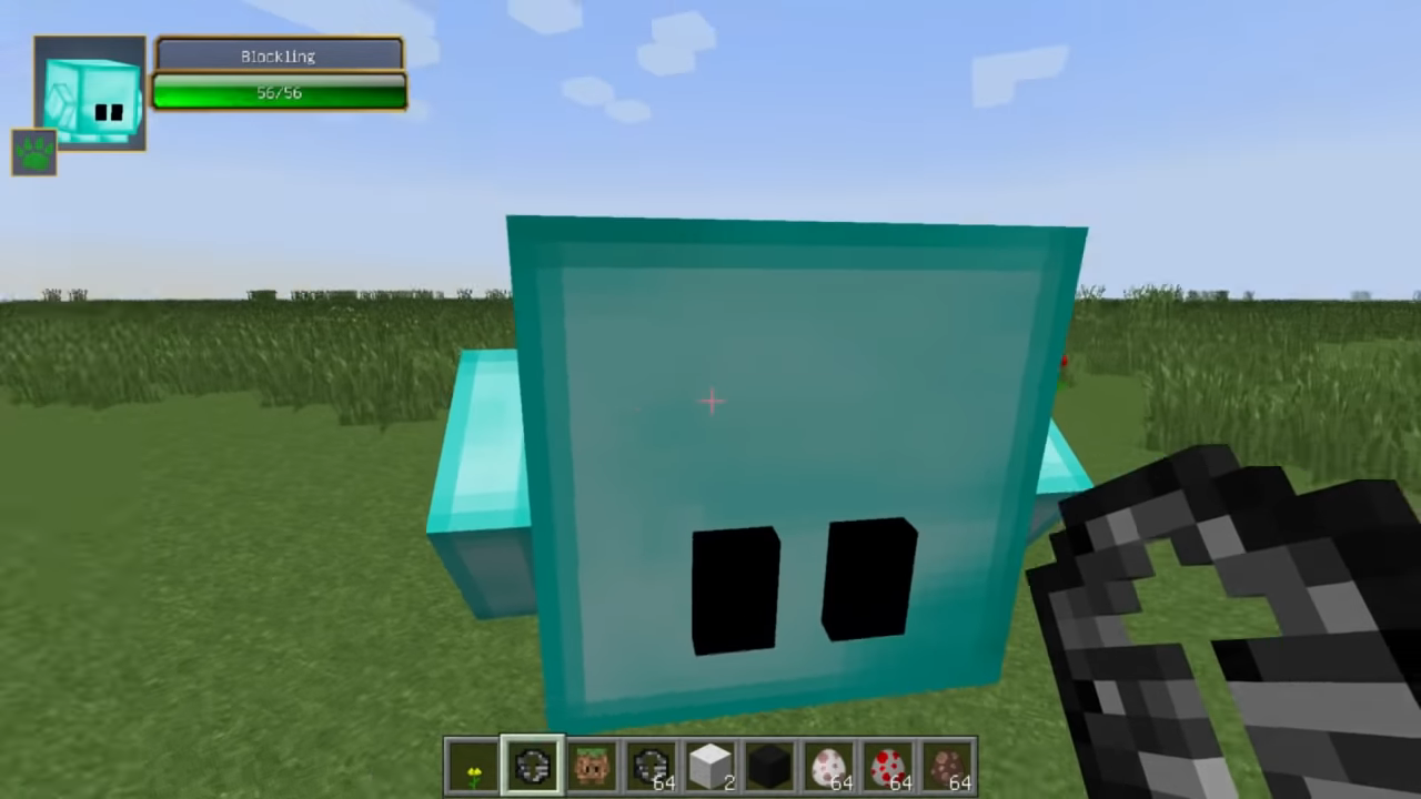 Мод Blocklings (Живые блоки!) - скриншот 1