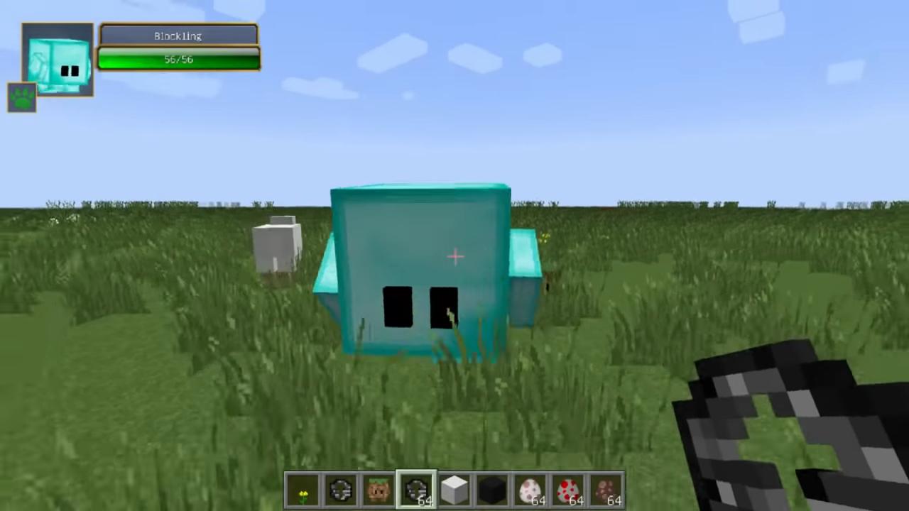 Мод Blocklings (Живые блоки!) - скриншот 7