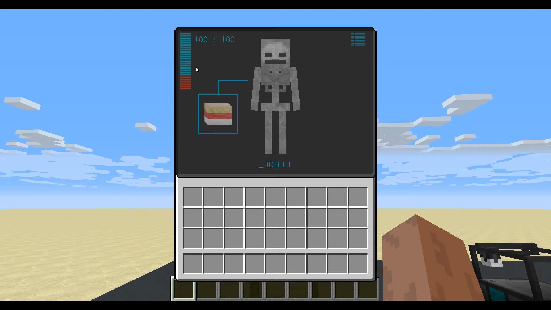 Мод Cyberware (Стань киборгом) дляМайнкрафт - скриншот 10