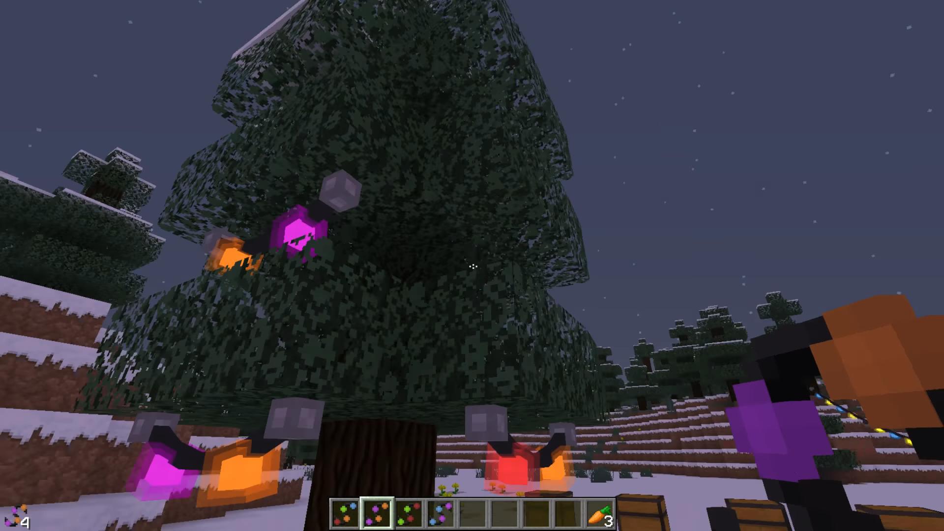 Мод «Fairy Lights» (Новогодние гирлянды) - скриншот 1