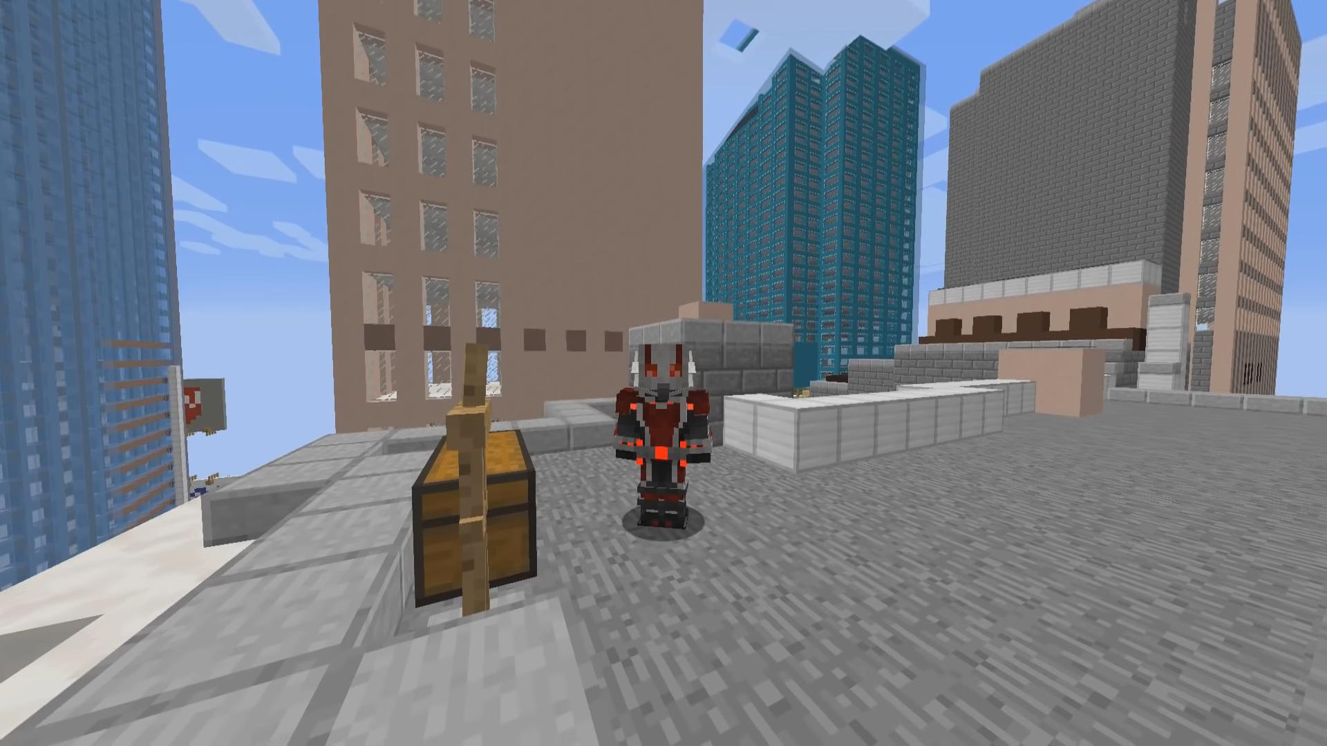 Мод PymTech (Супергерой— Человек Муравей) - скриншот 4