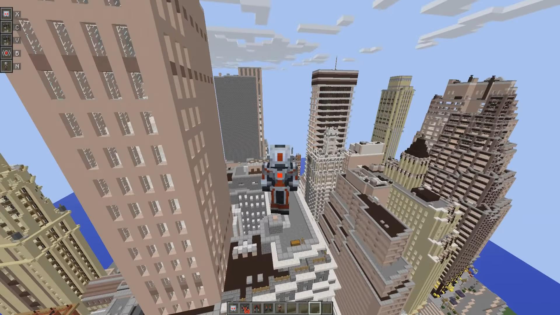 Мод PymTech (Супергерой— Человек Муравей) - скриншот 2