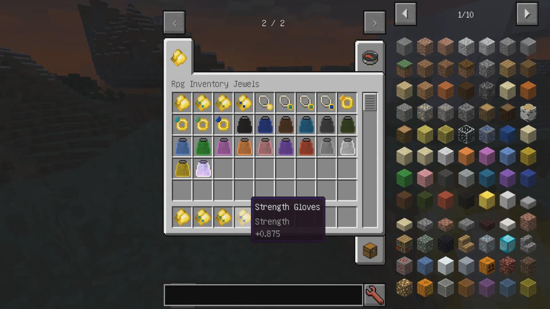 Мод «Rpg Inventory» (Прокачка игрока) - скриншот 3