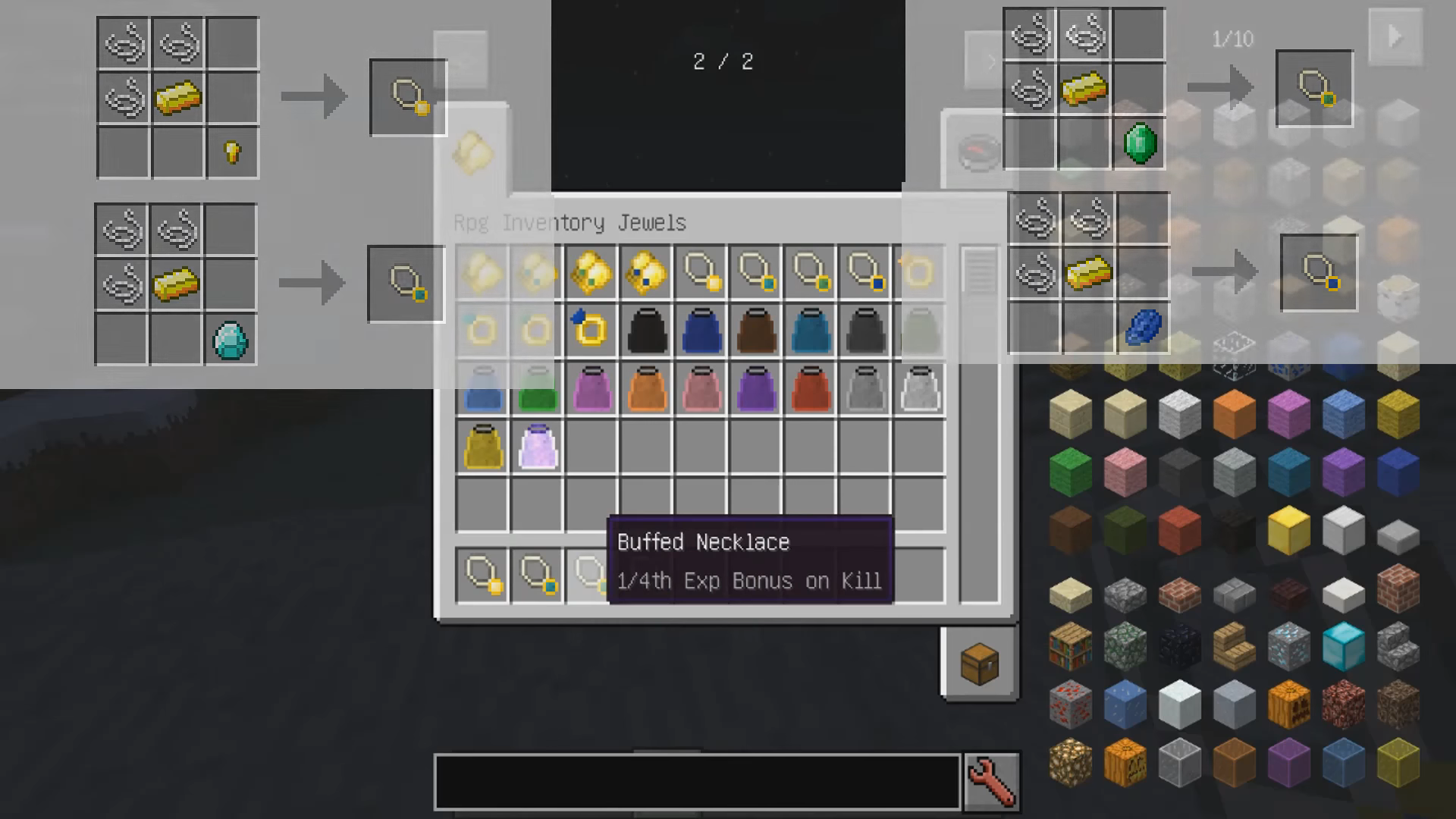 Мод «Rpg Inventory» (Прокачка игрока) - скриншот 2