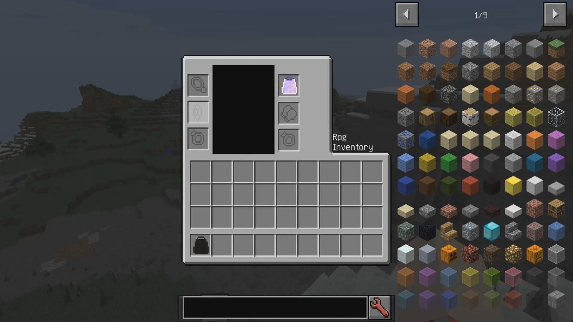 Мод «Rpg Inventory» (Прокачка игрока) - скриншот 1