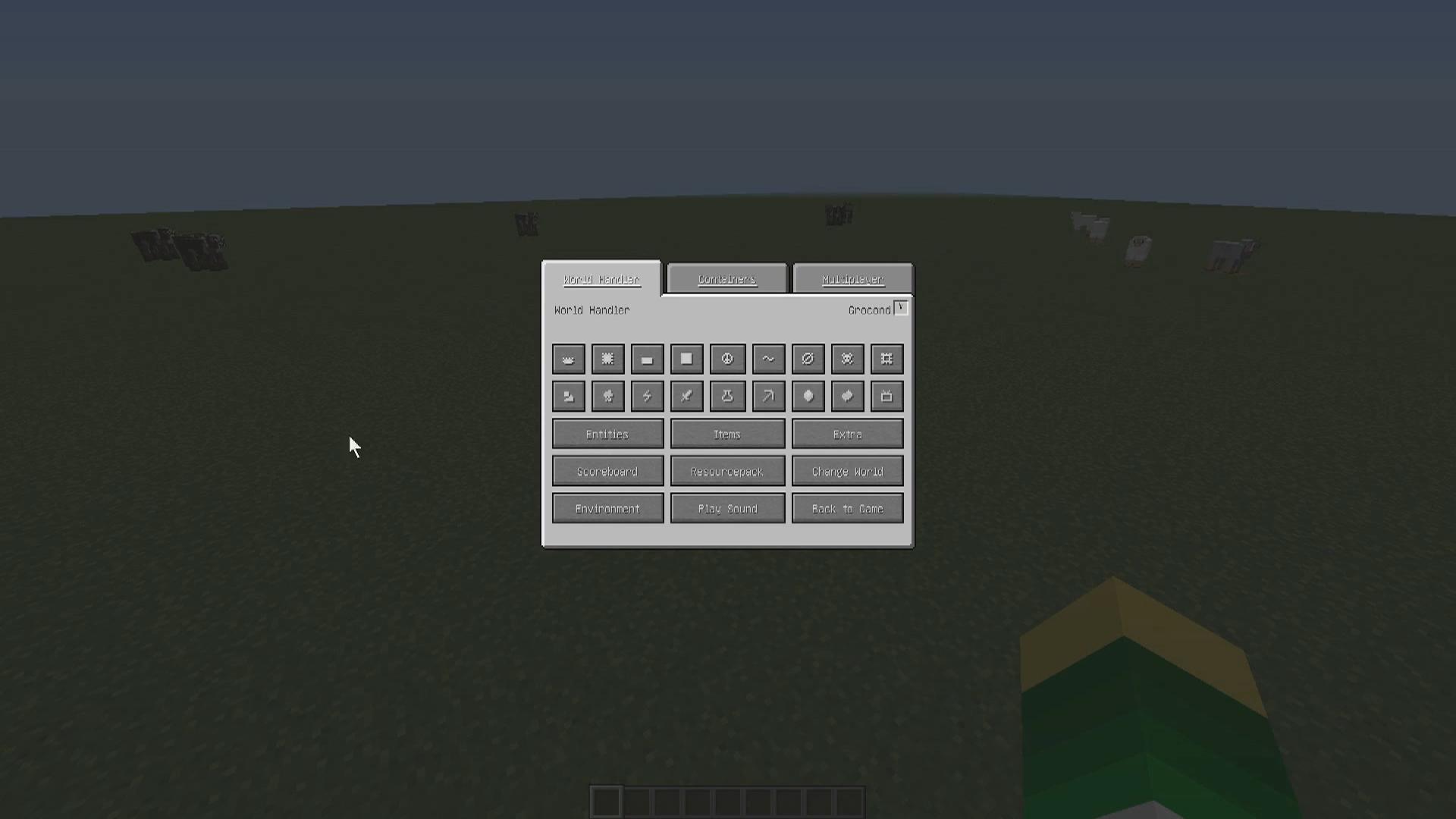 Мод «World Handler» (Полезные кнопки) - скриншот 4