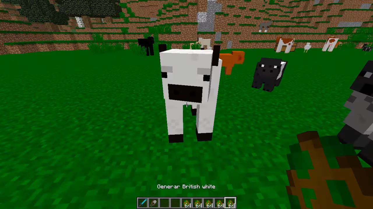 Мод «Better Agriculture» (40 животных) дляМайнкрафт - скриншот 1