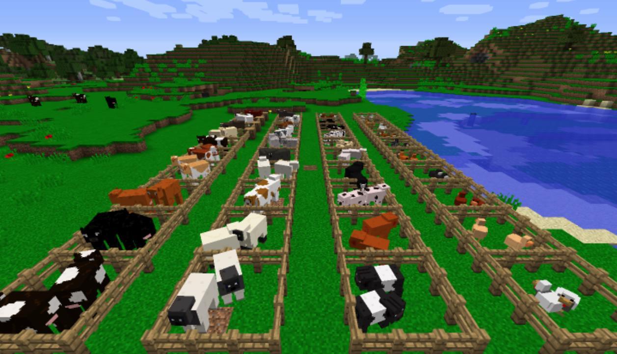Мод «Better Agriculture» (40 животных) дляМайнкрафт - скриншот 4