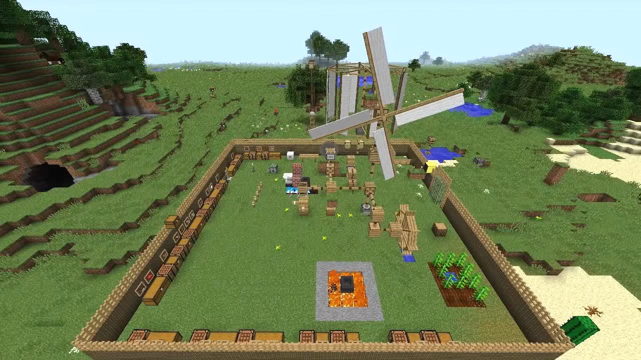 Мод «Better With Mods» (Ветряная мельница) дляМайнкрафт - скриншот 3