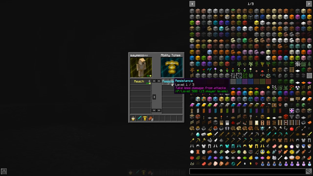 Мод Everlasting Abilities (Волшебные способности) дляМайнкрафт - скриншот 1
