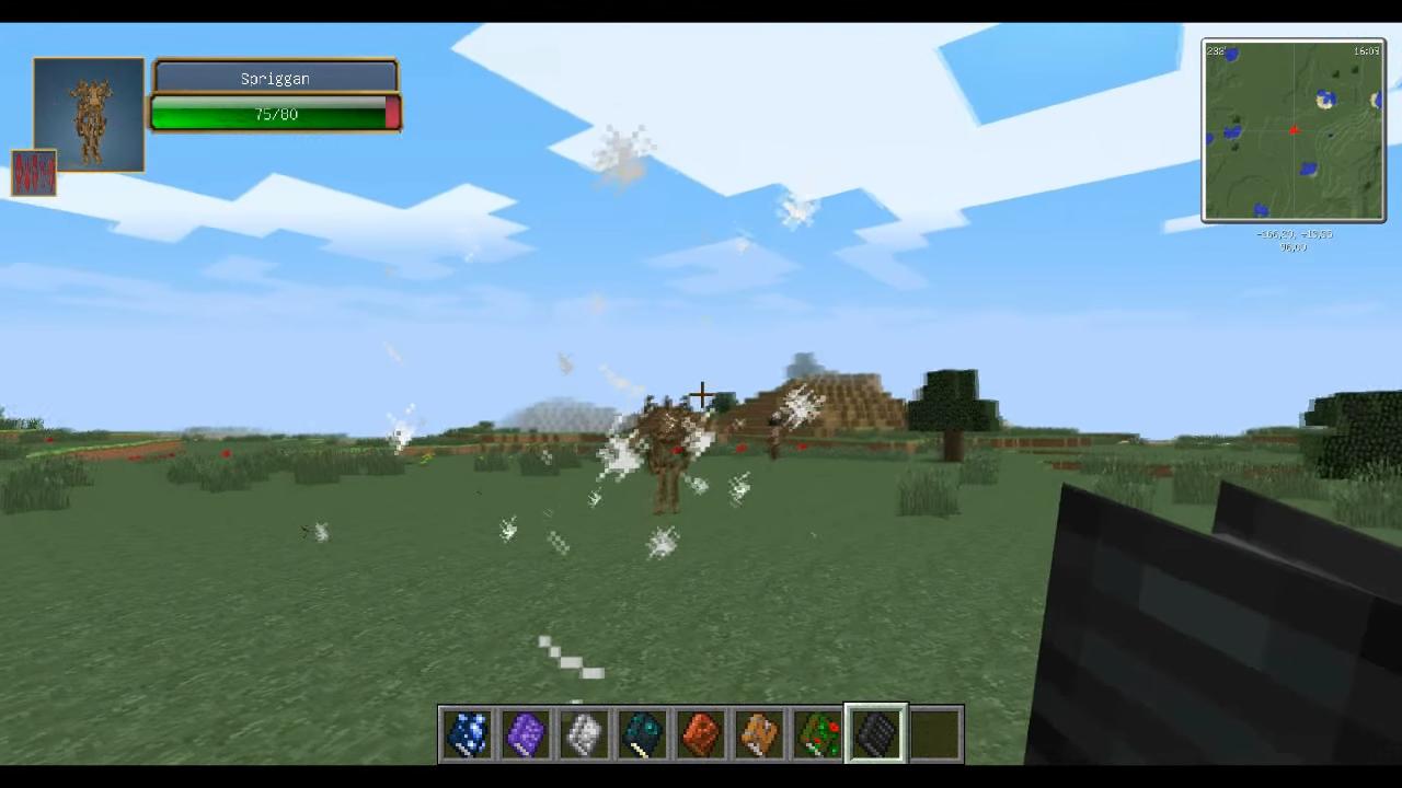 Мод «Grimoire of Gaia 3» (Мифические существа) - скриншот 2
