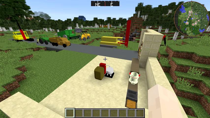 Мод Heavy Machinery (Тяжелая техника) дляМайнкрафт - скриншот 6